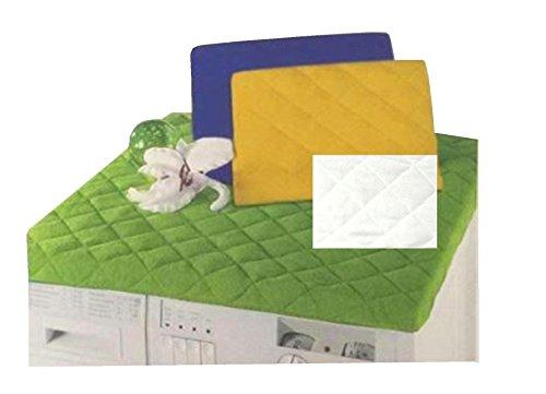 ARIA MAR Waschmaschinenbezug mit gepolsterter Unterseite, gelb