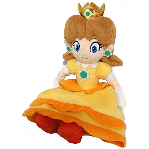 EREL Super Mario Prinzessin Gänseblümchen Plüschpuppenspielzeug, Kindergeburtstagsfeier Geschenk Spielzeug schönes Mädchen Plüschtier 20cmQ dedu