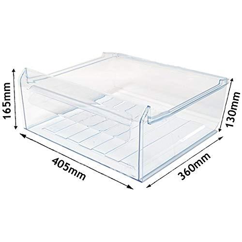 Electrolux Rex AEG - Cajón congelador para nevera original, 40cm x 37cm x 16cm