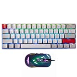 Newmen 60% Mechanical Wireless Gaming Keyboard and Mouse Combo Red Switch