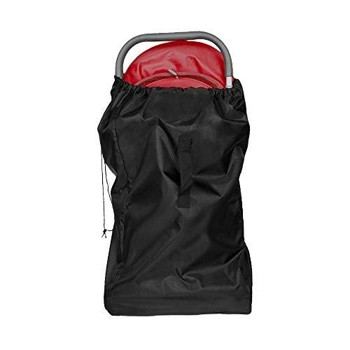 ninitosninitos Kinderwagen Gate Check Bag, Reisetasche mit Trageriemen, Buggy Transporttasche für Flugzeug (schwarz)