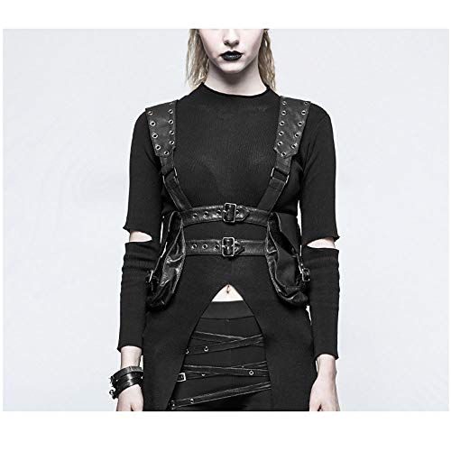 YOUDAN Steampunk Pocket Steampunk Dames Schoudertas Retro Gothic Multifunctionele Outdoor Sporttas