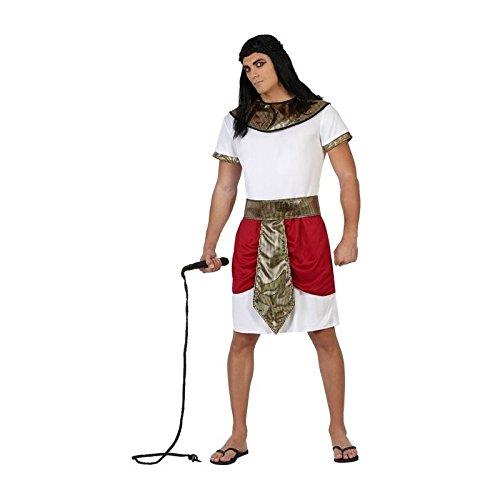 ATOSA disfraz egipcio hombre adulto faraón rojo XL