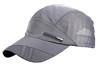 Jooyi® Mens Snapback Baseball Golf Cap Summer Quick Dry Sports Outdoor Mesh Tennis Hat Ball Cap