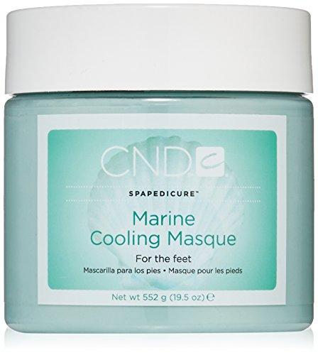 CND máscara pies Marina Refrescante Mascarilla, Paquete 1er (1 x 552 g)