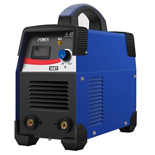 Soldadora ARC Soldadora, Soldadora Automática De Varilla 200A Soldadora Digital Inverter 220V / 380V Máquina De Soldadura Portátil DC De Doble Voltaje, Azul