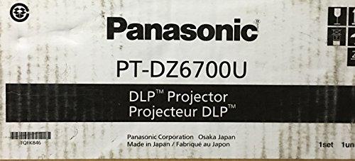 Sale!! PT-DZ6700U DLP Proj Wuxga 4:3 2000:1 6000 Lumens ACF 30.6LBS