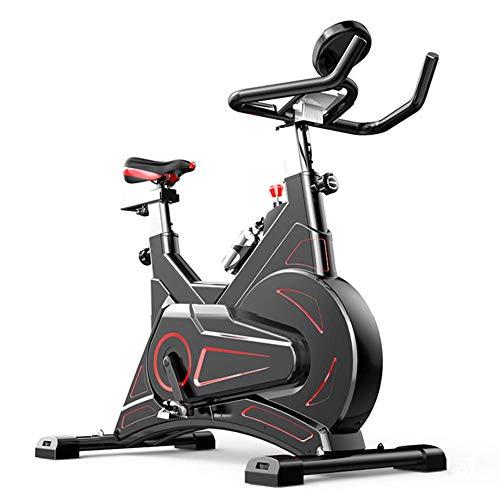 WGFGXQ Bicicleta estática, Bicicleta de Pedales estacionaria con Monitor LCD El Monitor Muestra la Velocidad, la Distancia, el Tiempo, Las calorías y el Pulso Equipo Deportivo Entrenador de Cardio