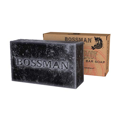 Bossman 4-in-1 Bar Soap - Functions as Hair Shampoo - Beard Shampoo - Body Wash and Conditioner (4oz)