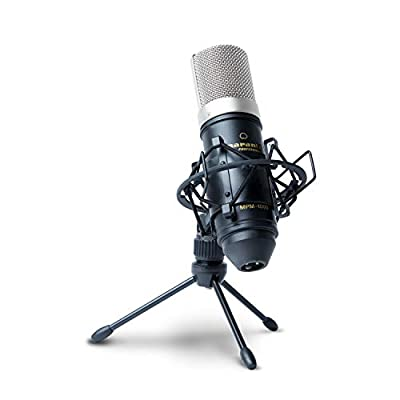 Marantz Pro MPM1000 - Studio Recording Condenser Microphone with Shockmount, Desktop Stand and Cable – Perfect for Podcasting and Voiceover Projects from inMusic Brands Inc.