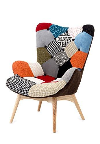 Wink design, L'Aia-C Poltrona, Tessuto Tecnico, Multicolore
