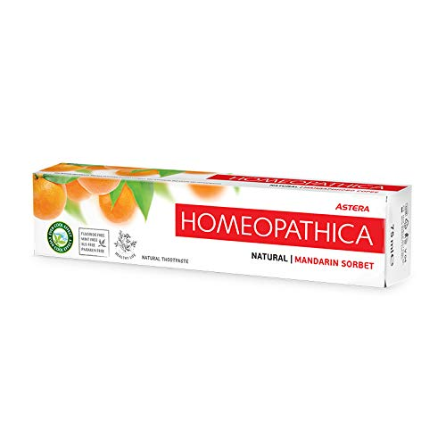 ASTERA Homeopathica Natural Mandarin Sorbet Zahpnpasta- 75ml