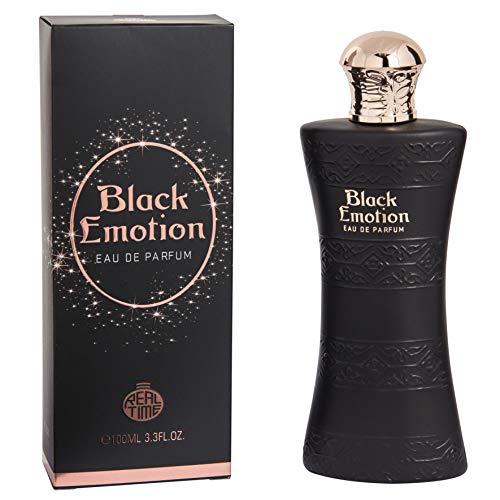Real Time Eau de Parfum pour Femme Black Emotion 100 ml