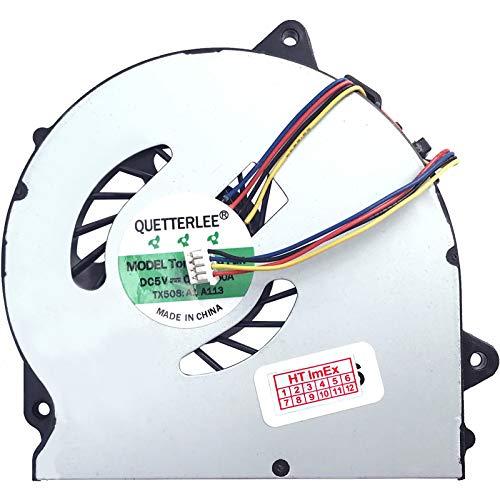 Cooling Fan Compatible with Lenovo IdeaPad G70-70 (80HW002NUS), G70-80 (80FF0BAGE), Z50-70 (59427356), Z50-75 (80EC001FGE), G50-70 (59427091), G591) 50-80. (80L000HEGE)