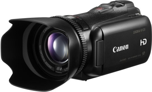 Canon LEGRIA HF G10 HD-Camcorder (SDXC/SDHC/SD-Slot, 10-fach Zoom Dynamic IS, 8, 8cm (3,5 Zoll) Touch-Display) schwarz
