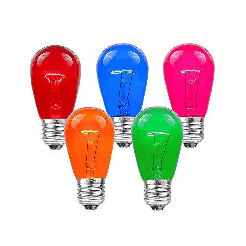 Decor 24V 24 Volt G9.5 5 Watt 10 pack Bulb 5W Candelabra E12 Base