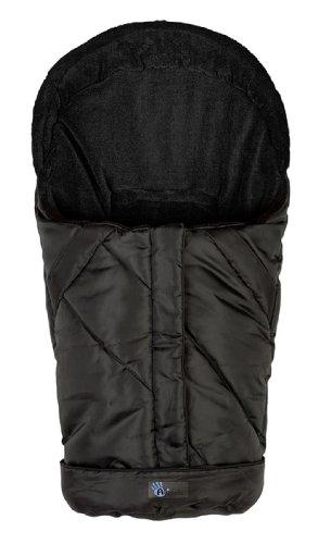 Altabebe AL2003-03 Winterfußsack Nordic Kollektion für Babyschale und Car Seat, Gruppe 0+, schwarz