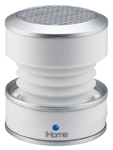 iHome iH59WC Rechargeable Color Changing Mini Speaker (White)
