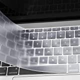 MOSISO AZERTY Protection Clavier Compatible avec MacBook Pro 13 Pouces A1708 sans...