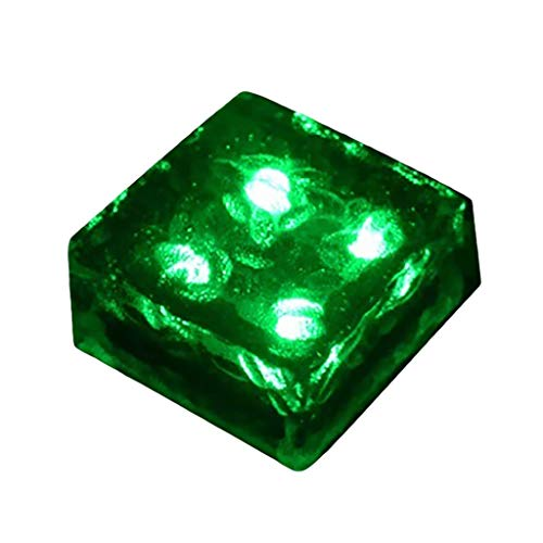 Outdoor LED Solar Light Ice Brick Light Floor Tile Square Underground Light Home & Garden LED light