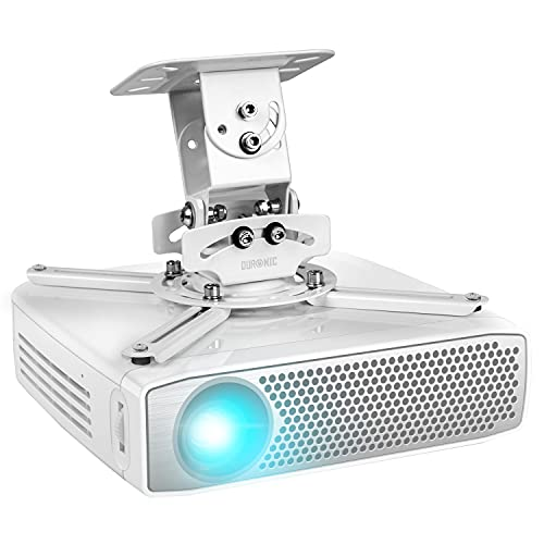 Duronic PB05XB Beamer Halterung | Projektor Halterung | Universal Wandhalterung | Halterung für Video-Projektor | drehbar und schwenkbar | Heimkino | Traglast bis zu 13,6 kg | 360° Rotation