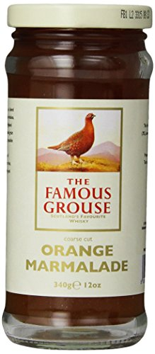 Mackays Course Cut Orange Marmalade with Famous Grouse Whisky, 12-Ounce