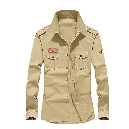 Preisvergleich Produktbild NOBRAND Herren-Langarmshirt,  groß Gr. XL,  gelb