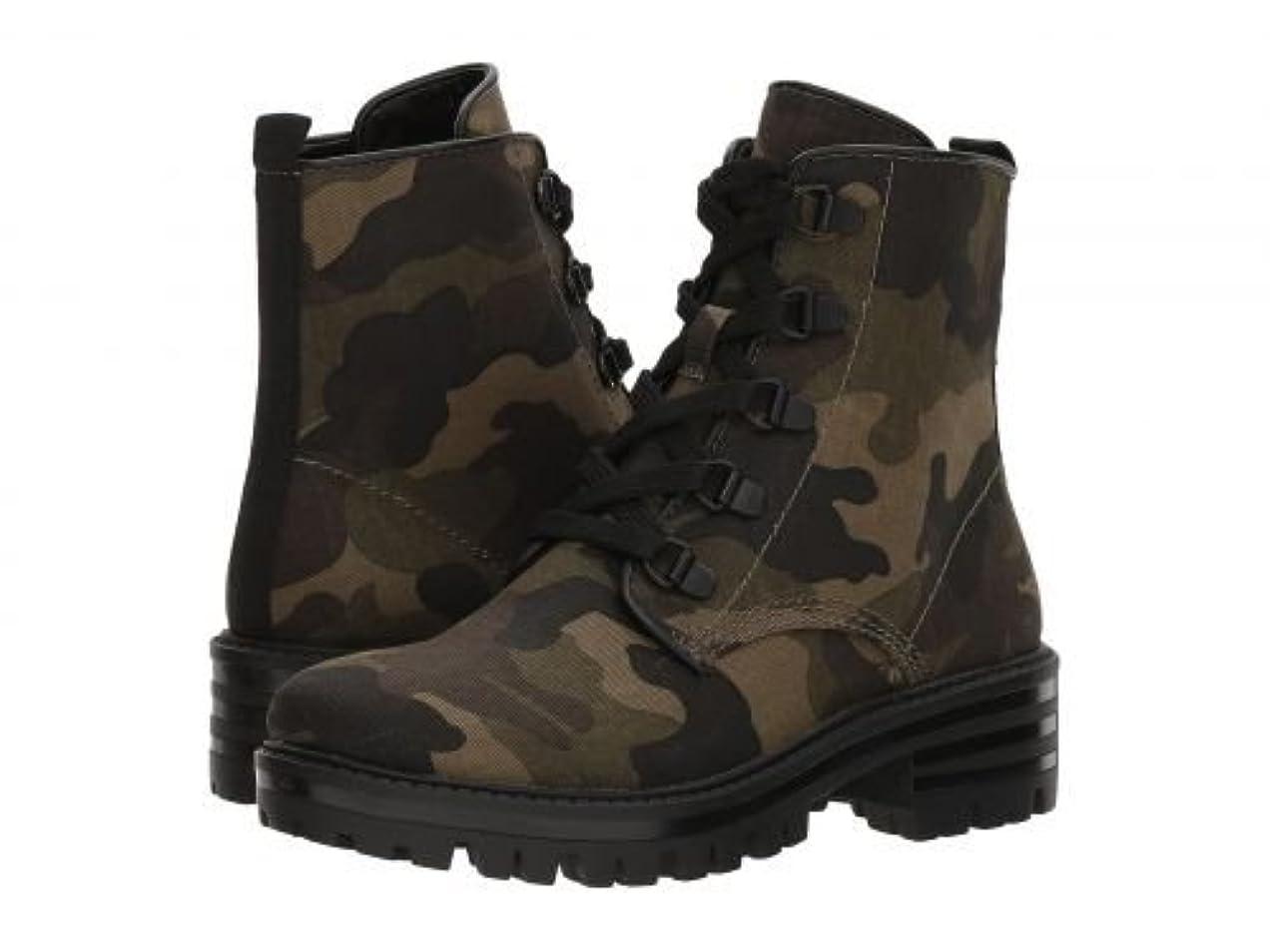 貴重な類似性ピッチKENDALL + KYLIE(ケンドールアンドカイリー) レディース 女性用 シューズ 靴 ブーツ レースアップブーツ Epic 3 - Green/Brown Multi/Black/Black [並行輸入品]
