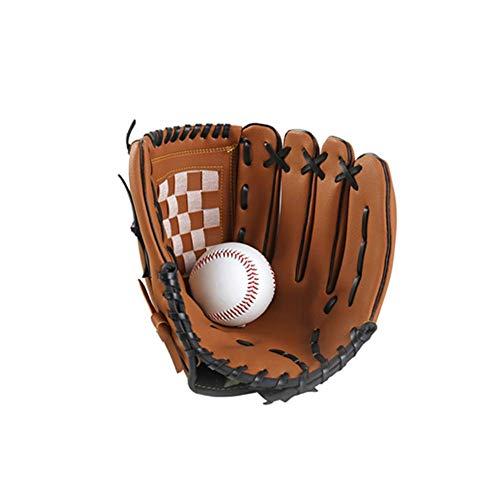 1pc Béisbol Guantes, Béisbol Guantes Jarra, Cuero Sintético Mano Izquierda Béisbol Entrenamiento Práctica Guantes para Exterior Sports Hombre Mujer Niños Adolescentes - Como Imagen Mostrar, 9.5 inch