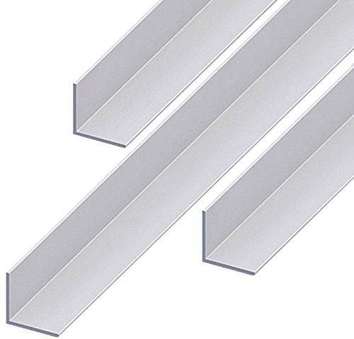 Aluminium Winkel Aluwinkel Walzblankes Aluprofil Winkelprofil 80x40x3mm 1500mm