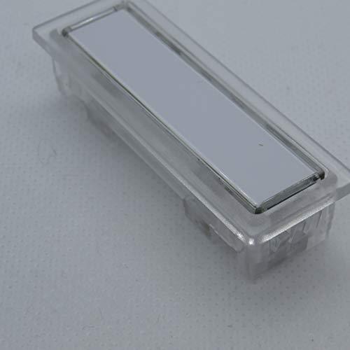 Namenschildtaster Lira 1303 glasklar passend für Renz, DAD und Ju