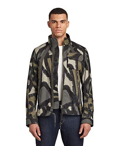 G-STAR RAW Mens Hb Tape Work Utility Outerwear, Shamrock Brushed Objects C313-c373, XXL