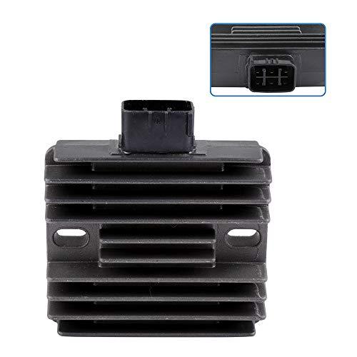 ECCPP Voltage Regulator Rectifier Fit for 2002-2004 Honda Foreman 450 2004-2007 Honda Rancher 400 2002-2007 Suzuki Eiger 400 2007-2010 Suzuki King Quad 450 6D3-81960-00-00 Rectifier Regulator
