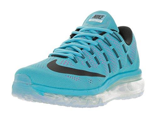 Nike Damen WMNS Air Max 2016 Laufschuhe, Azul Gamma Blue Black Pnk Blast Wht, 36.5 EU