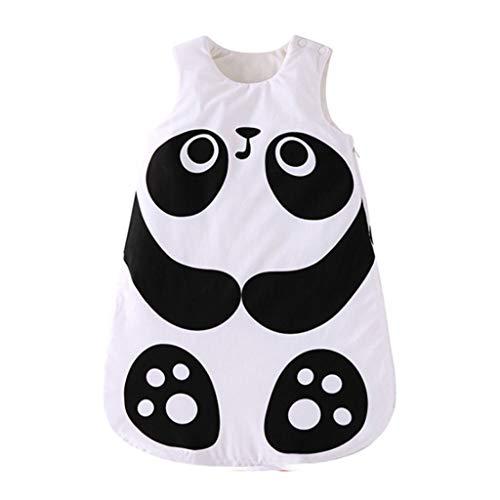 Jixi Panda Fox Baby Slaapzak Katoen Baby Slaapzak Baby Winter Slaapzak Kinderen Kinderen Kinderen Kinderpyjama Pasgeboren Slaapzak