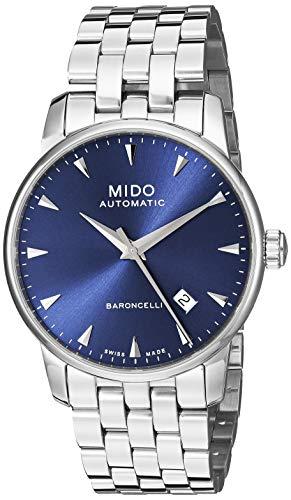 Mido orologio Baroncelli Midnight Blue Gent 38mm automatico M8600.4.15.1