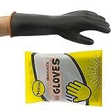 Guantes de látex químicos, guantes de goma resistentes, guantes de protección, 35...