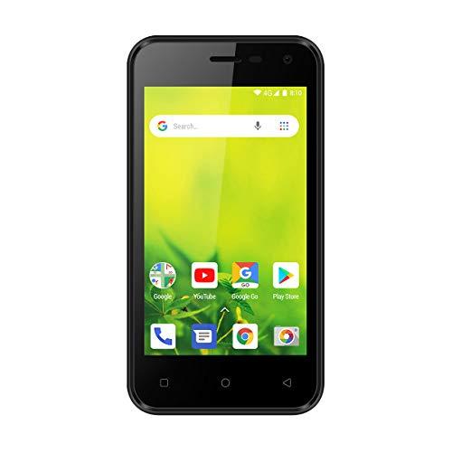 Logicom Le Smooth FR Smartphone débloqué 3G (Écran : 4 Pouces - 8 Go - Double Sim - Android 8.1 Oreo Go Édition) Noir
