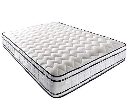 Mattress-Haven Pocket Sprung Memory Foam Mattress - 1500 Springs - Medium5FT - Kingsize