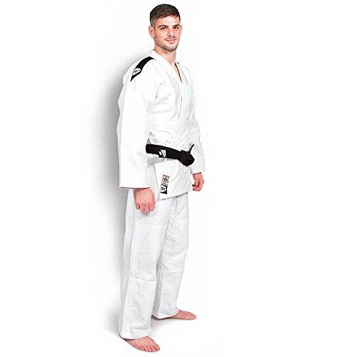 GREEN HILL Professional offizial Judo Traje de Judo Kimono Gi///750g/m²/Selección de Colores/tamaños Selección, Weiß