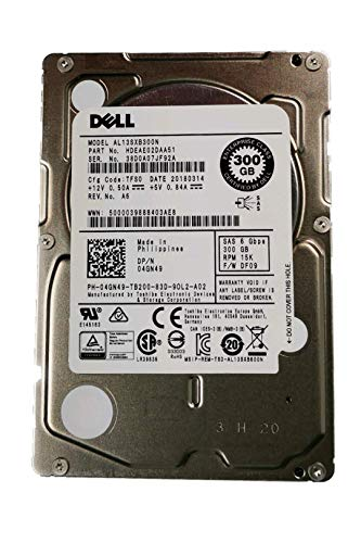 dell 300gb sas 15k