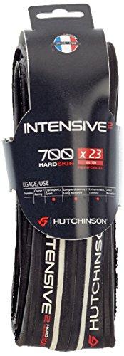 Hutchinson SNC Intensive 2 Pneu de vélo Adulte Unisexe, Noir/Blanc, 700x23
