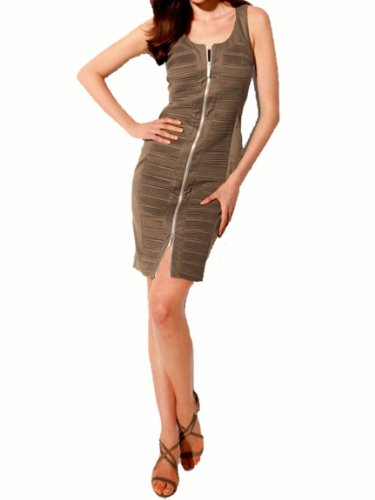 Ashley Brooke Damen-Kleid Etuikleid Taupe