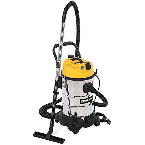 POWERPLUS POWX324 Aspirador seco/húmedo, 1200 W, 240 V, 30