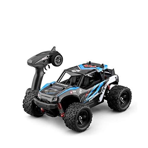 YYQIANG Motor de alta velocidad 1/18 Drift RC Buggy, camión RC de absorción de golpes de 4WD 4WD con neumáticos grandes, 50 km/h Anti-Collision All-Terreno RC Coche, Regalo de coche de control remot
