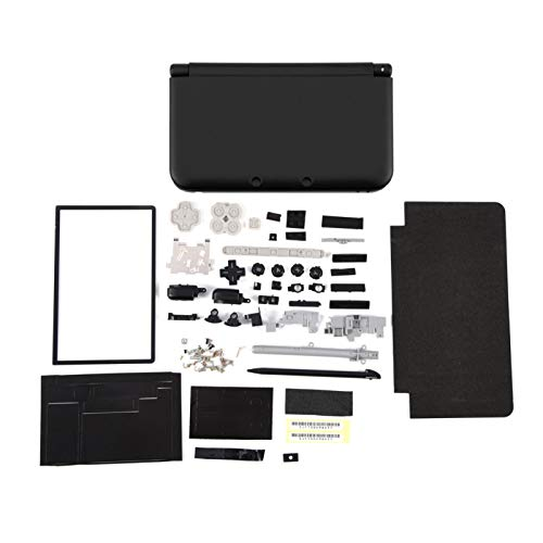 KAKAKE Estuche para 3dsll, Ligero Compacto Superior para 3dsll Estuche Diseño Simple para El Hogar(Negro)