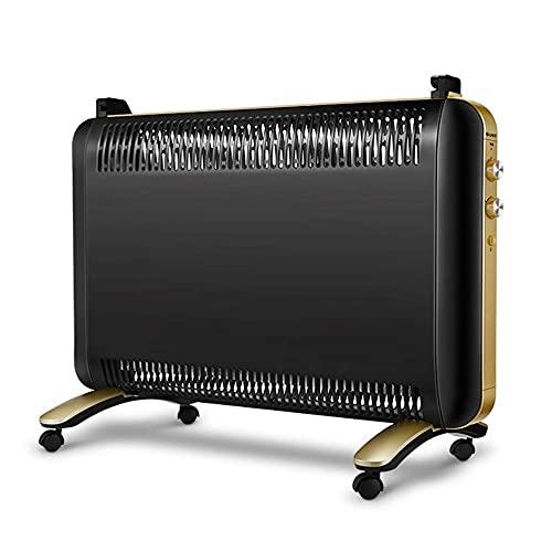 JIEZ Calentador de Espacio eléctrico Ventilador/Estufa de calefacción rápida móvil de Estilo Europeo para el hogar/Baño IPX4 Calentador de Seguridad a Prueba de Agua Calentador de radiador el