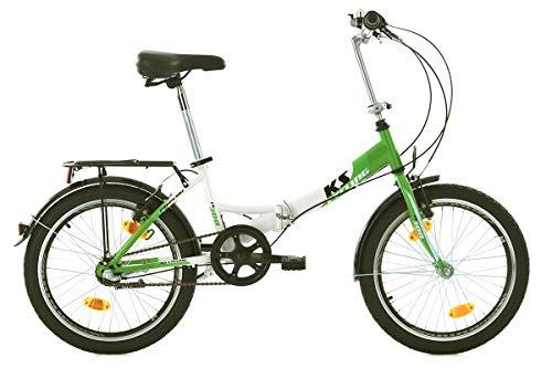 KS Cycling FX 300 Vélo Pliant Vert 20'