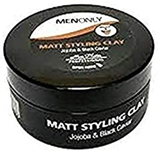 Mon Platin Professional Matt Styling Clay Enriched with Jojoba and Black Caviar Extracts 2.9oz by Mon Platin Men Only