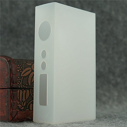 Silicone Case for Sigelei 150w Box Mod Protective Sleeve Cover Wrap (Clear Opaque)